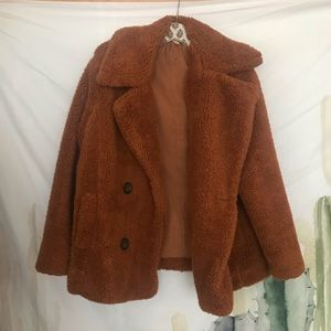 free people   teddy bear coat